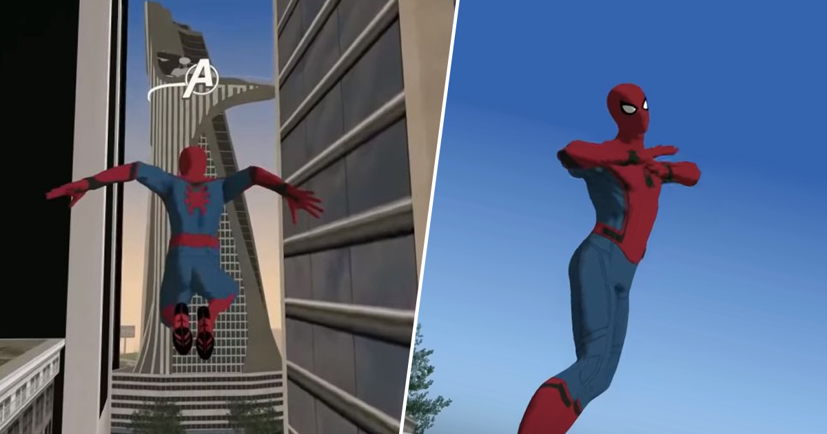 Spider-Man Modded Into GTA San Andreas, Complete With Web-Swinging