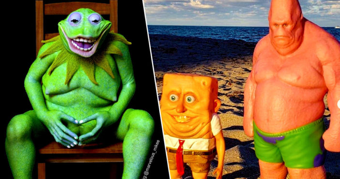 Real Life Cartoon Characters Will Destroy Your Childhood
