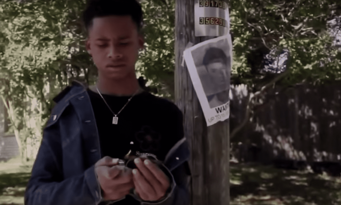 Tay-K in music video for The Race