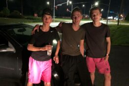 teens who pushed car 5 miles home