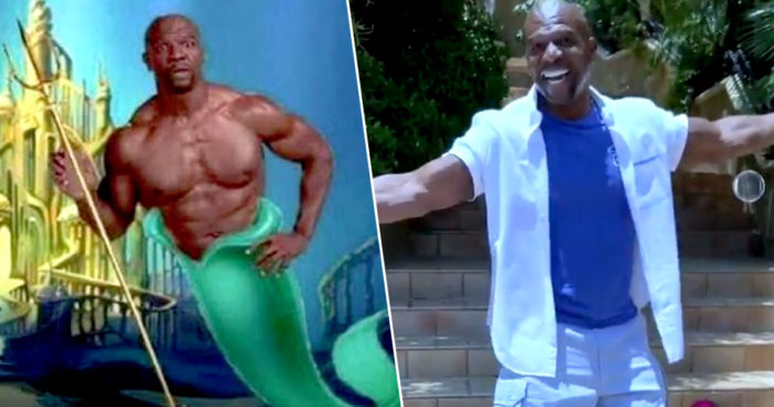 Terry Crews Shares Hilarious King Triton Audition