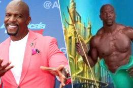 Terry Crews Nominates Himself To Play King Triton In Disney's Live-Action Little Mermaid