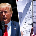 Donald Trump Spelled Al-Qaeda As 'Alcaida' On His Notes Criticising Ilhan Omar