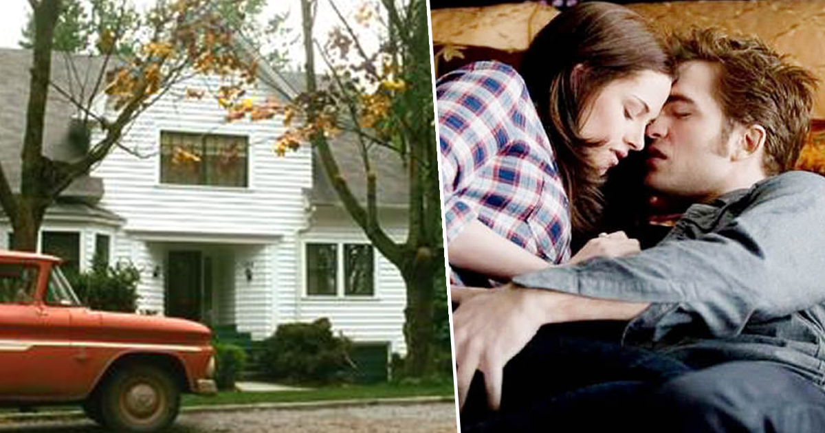 bella's house/bella and edward in twilight