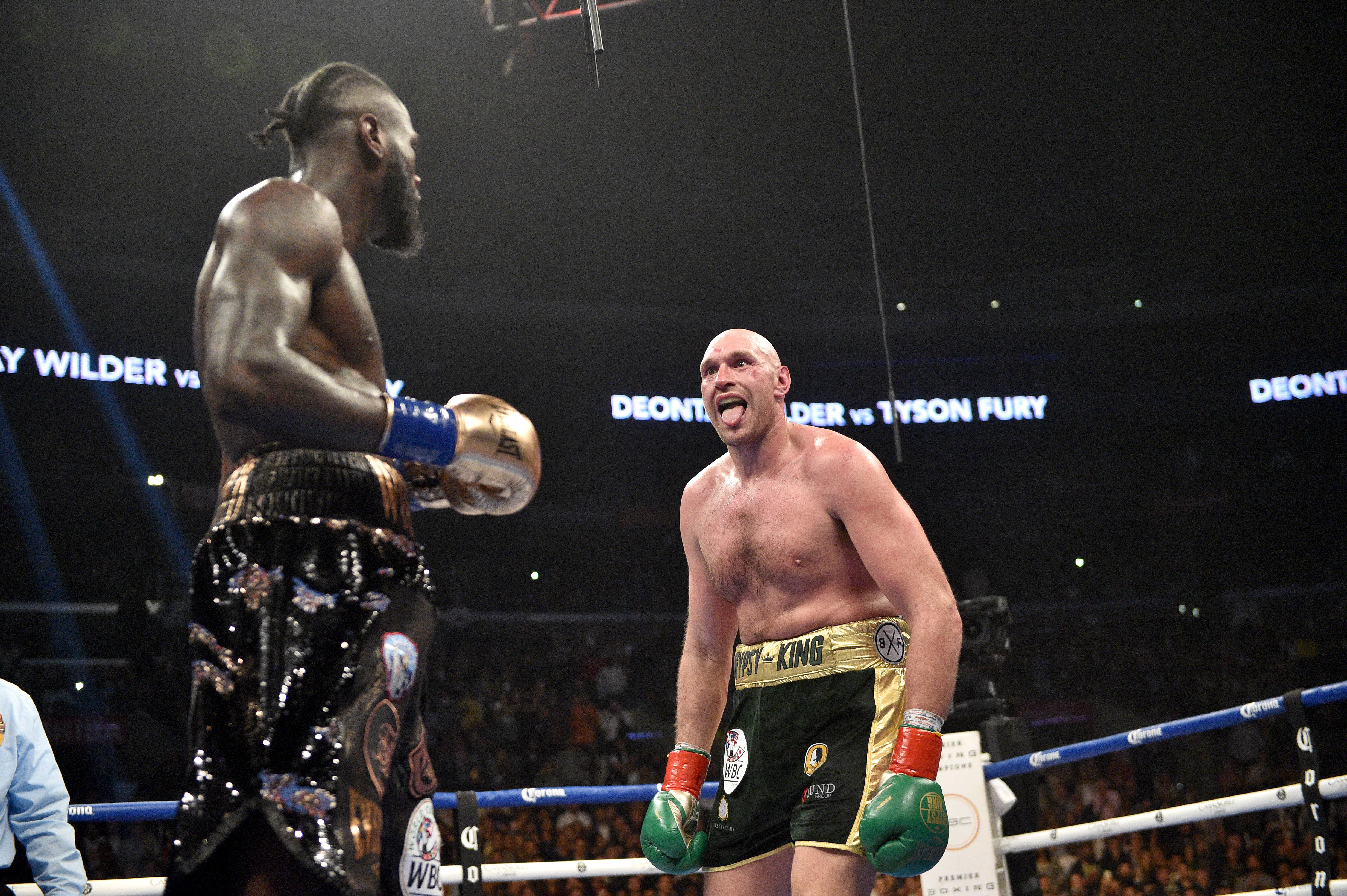 Tyson Fury Confirms Deontay Wilder Is Signed For February 22nd