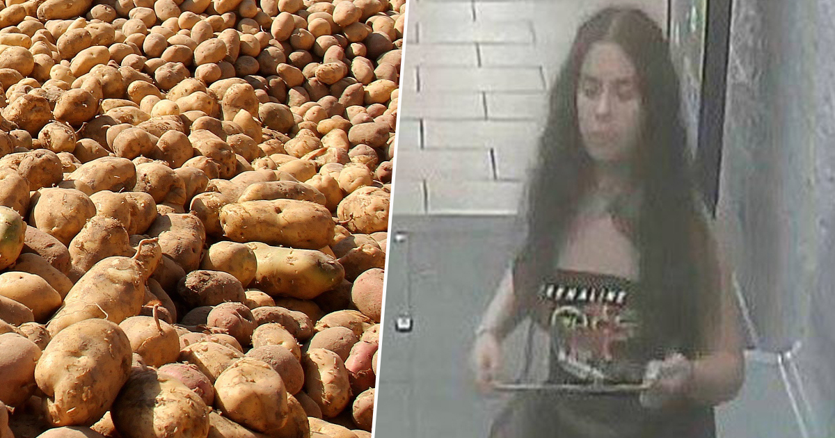 Woman who urinated on potatoes hands herself in