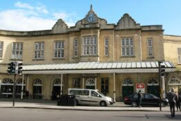 Bath Spa Train Station Dorchester street entrance