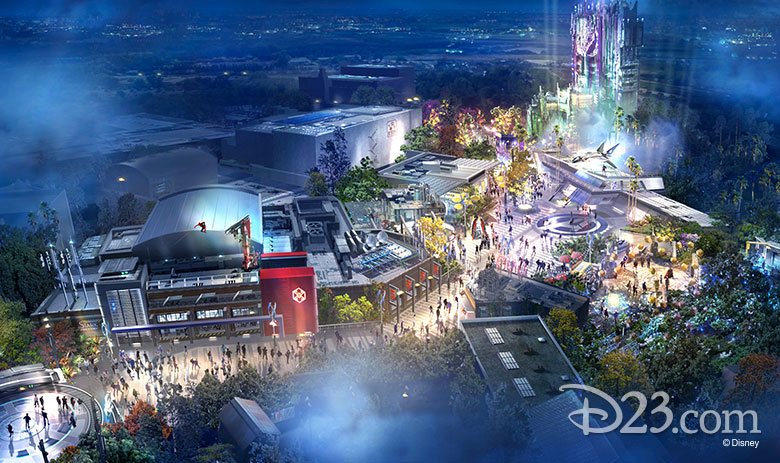 Disney reveal first look at Avengers Campus