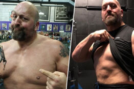 Big Show got in shape after conversation with John Cena