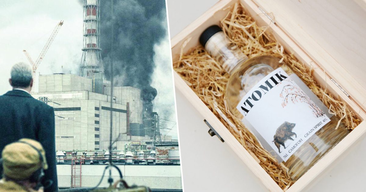 Vodka Made From 'Contaminated' Chernobyl Grain Shows Land's Potential