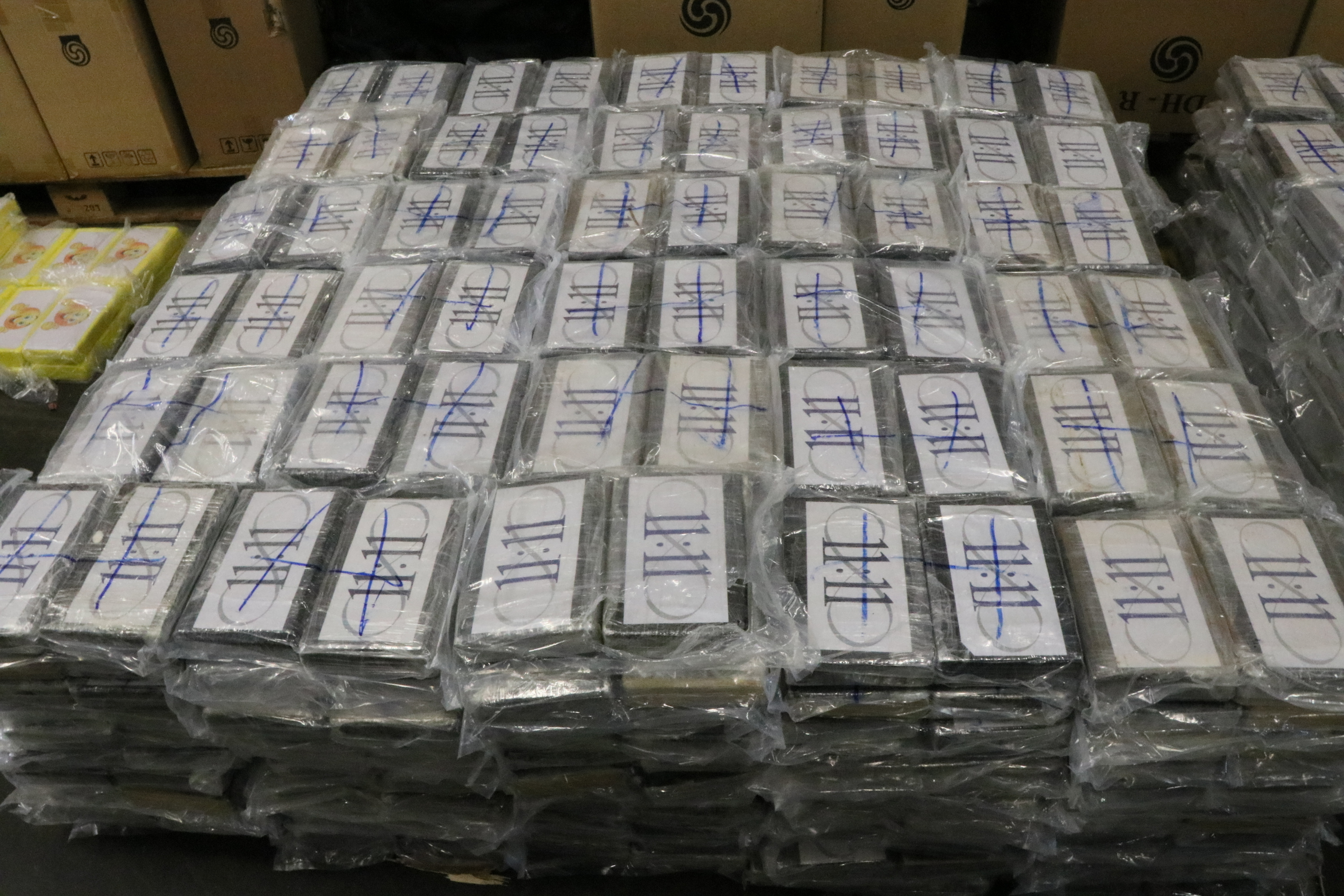 Cocaine haul Germany