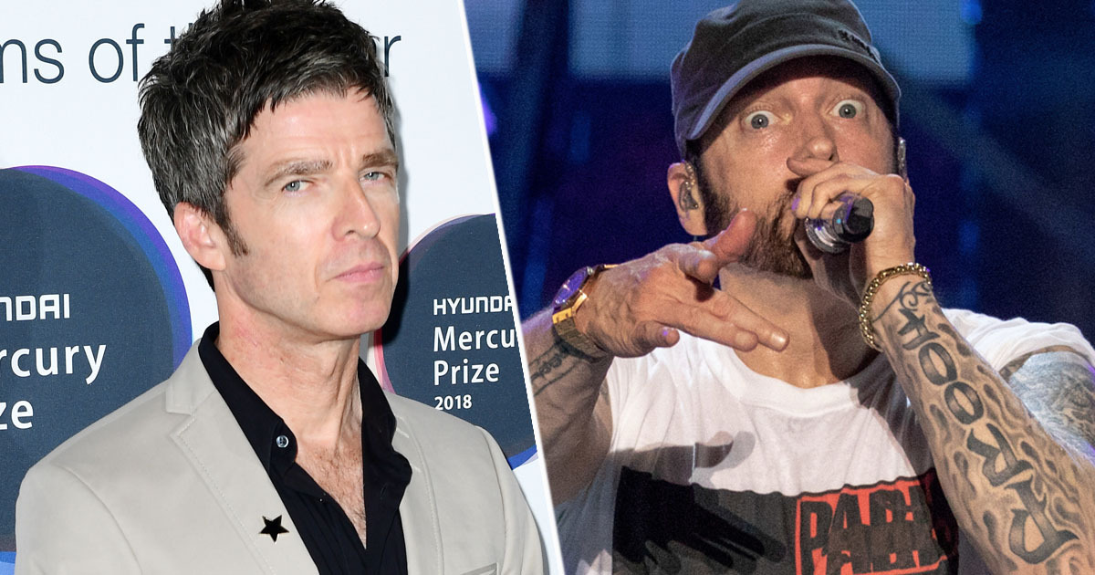 Eminem Is Boring For Rapping About Drugs And Rehab, Says Noel Gallagher