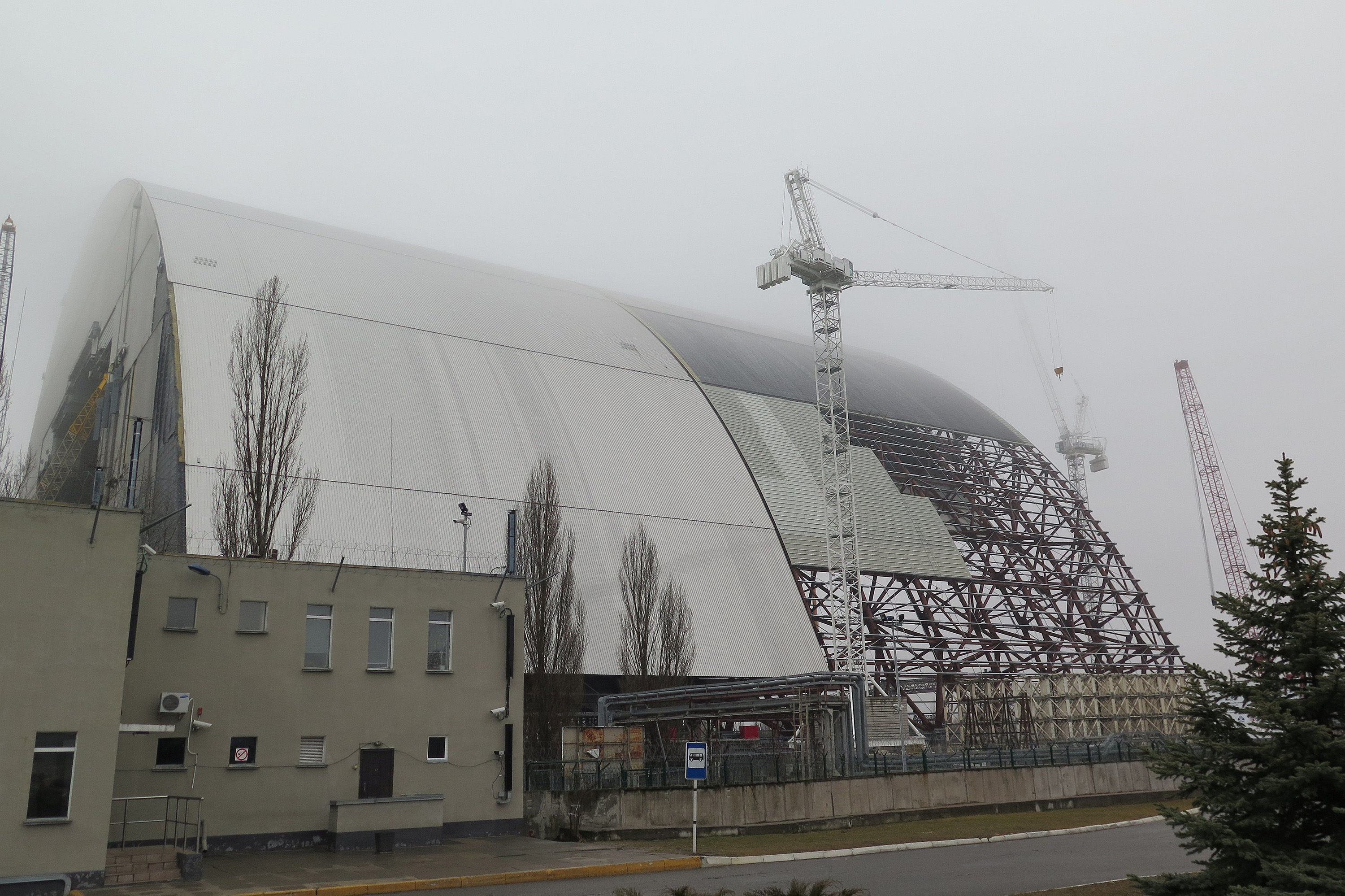 Chernobyl Sarcophagus Built To Hold Fallout Has 'Very High