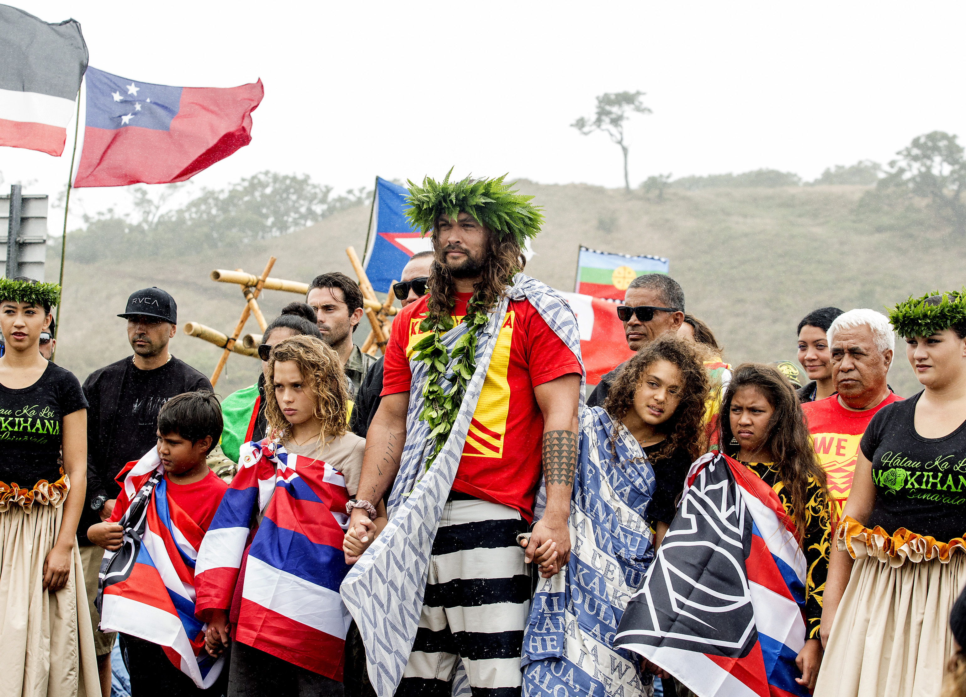 jason momoa protesting in hawaii