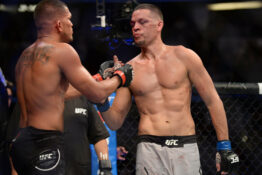Nate Diaz defeat over Anthony Pettis