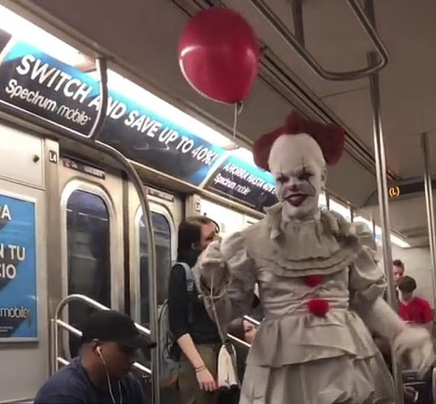 Pennywise NYC Subway