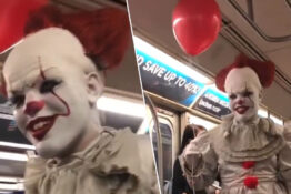 Pennywise NYC Subway Thumb