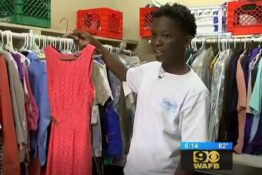 Schoolboy creates school closet