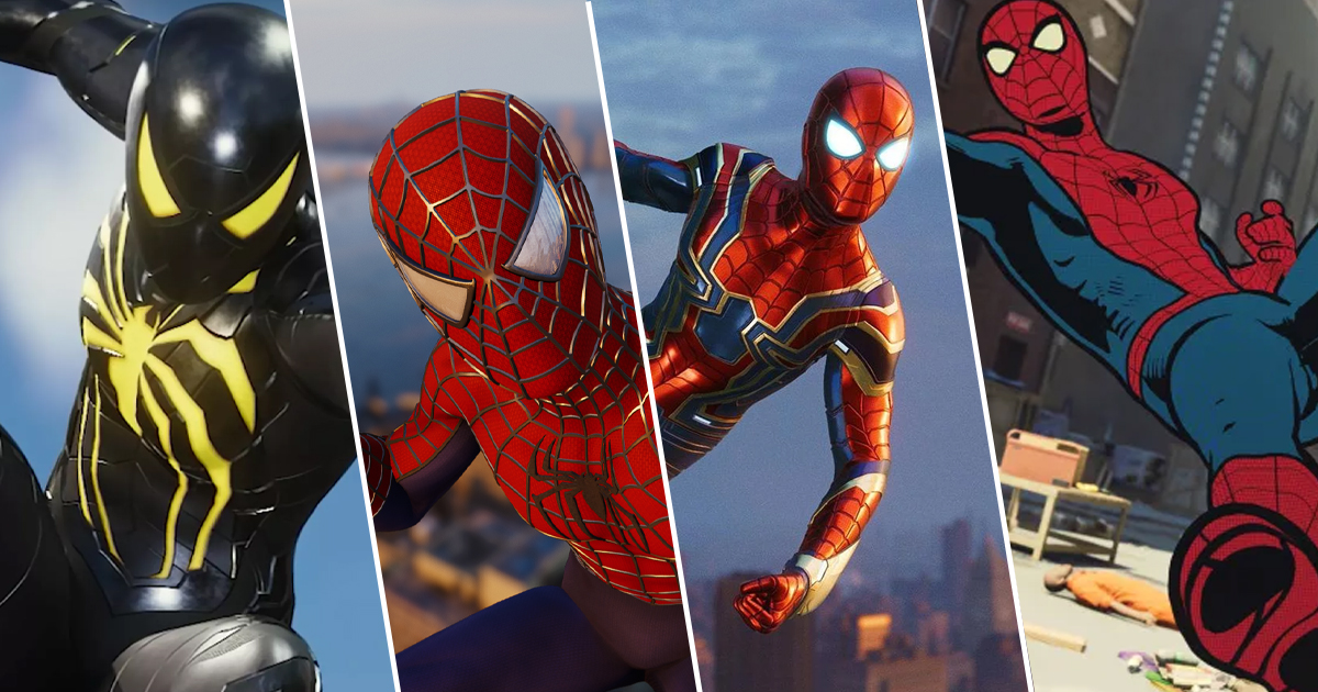 1b1ebfae5f27 Marvel's Spider-Man: All 42 Suits Definitively Ranked