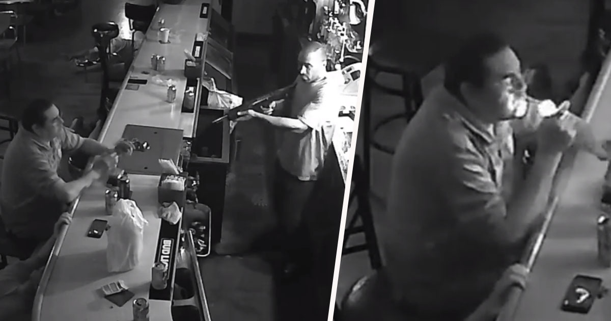 St Louis Bar Armed Robber