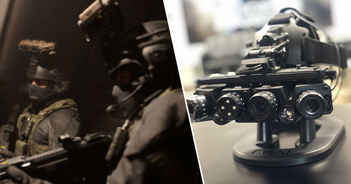 Call Of Duty: Modern Warfare Collector's Edition Night Vision Goggles Are Unreal