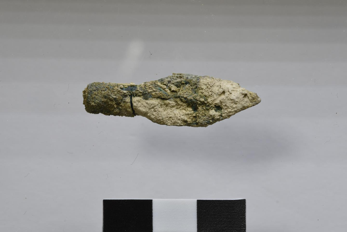 Babylonian arrowhead found at Mount Zion