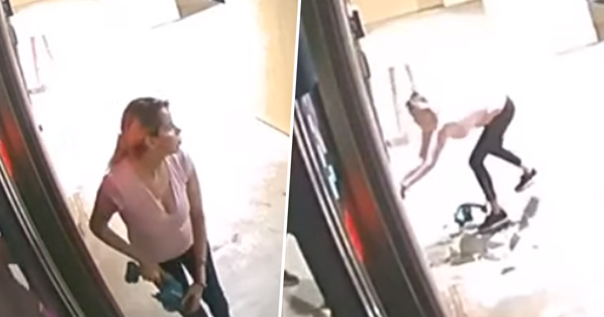 Woman uses saw to break into spa and steal anti-ageing products