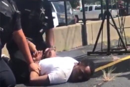 Cop Chokeholding Unconscious Man Says 'You're Okay Big Boy'