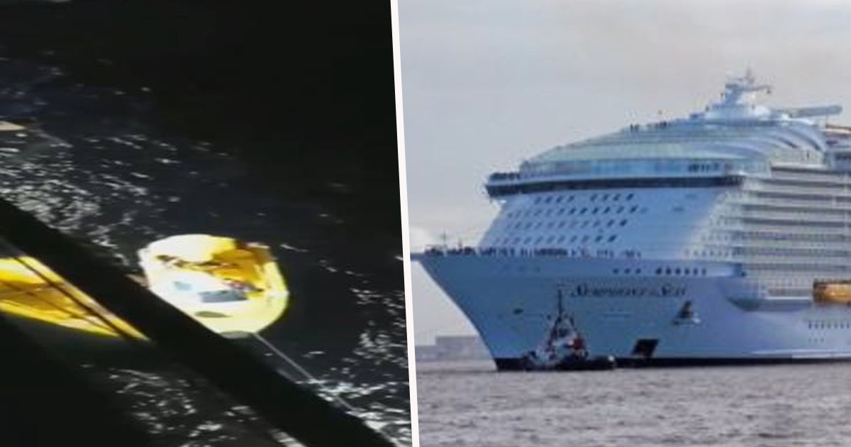 Man's Body Recovered In Front Of Shocked Cruise Passengers After He Fell Overboard