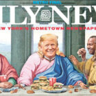 Self-Titled 'Chosen One' Donald Trump Parodied By New York Daily Front Page
