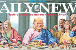 New York Daily News mocks Trump after he declared himself the chosen one