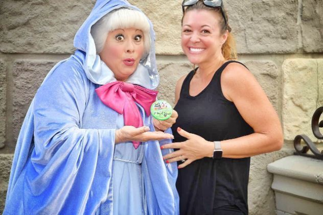 Mum Celebrates Sons' First Day Of School By Going To Disney World Alone