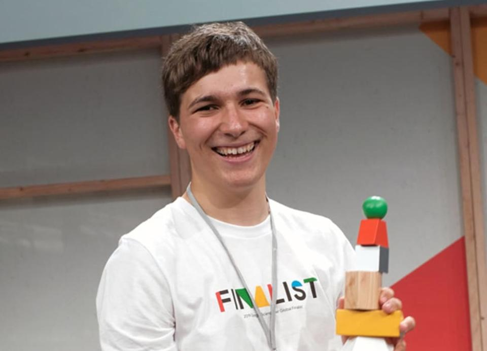 fionn ferreira at Google Science Fair