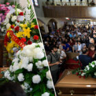 Husband Shocked As Hundreds Attend Funeral Of Wife Killed In El Paso Shooting