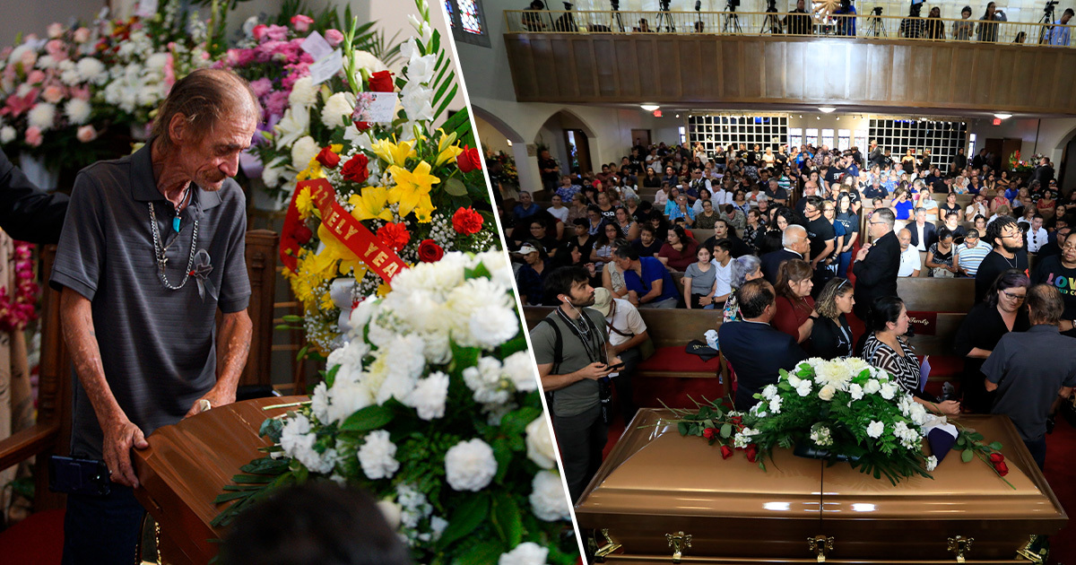 Hundreds turn up for funeral for victim of El Paso shooting