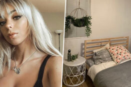 Student Forgot To Remove Handcuffs From Bed Before Sending Mum Photo Of New Room