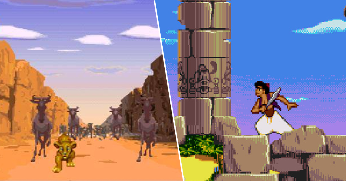 Aladdin And Lion King Reportedly Getting HD Remasters