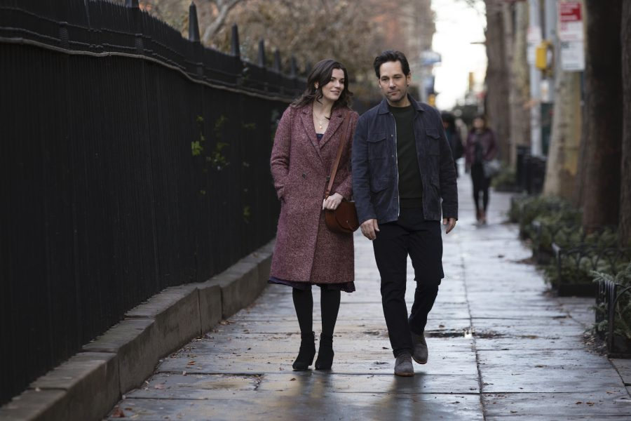 Aisling Bea and Paul Rudd in new Netflix series