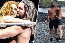 WWE's Becky Lynch And Seth Rollins Engaged