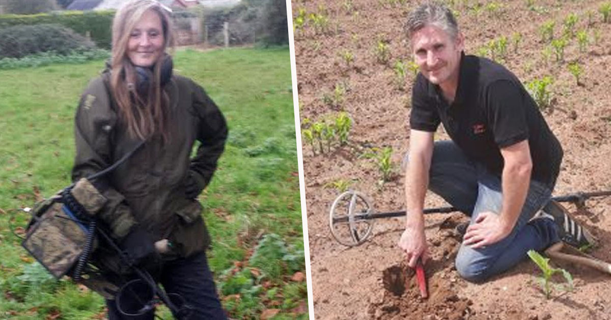 Metal Detecting Couple Find Huge Haul Worth Nearly £5 Million