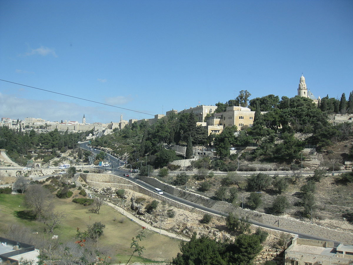 mount zion in jerusalem