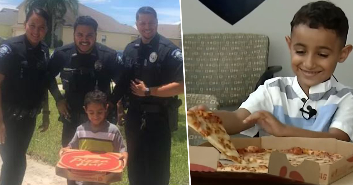 Boy calls 911 to place pizza order