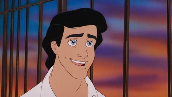 prince eric in the little mermaid