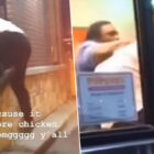 Guy Crawls In Drive-Thru Window To Fight Staff 'After Selling Out Of Chicken Sandwiches'