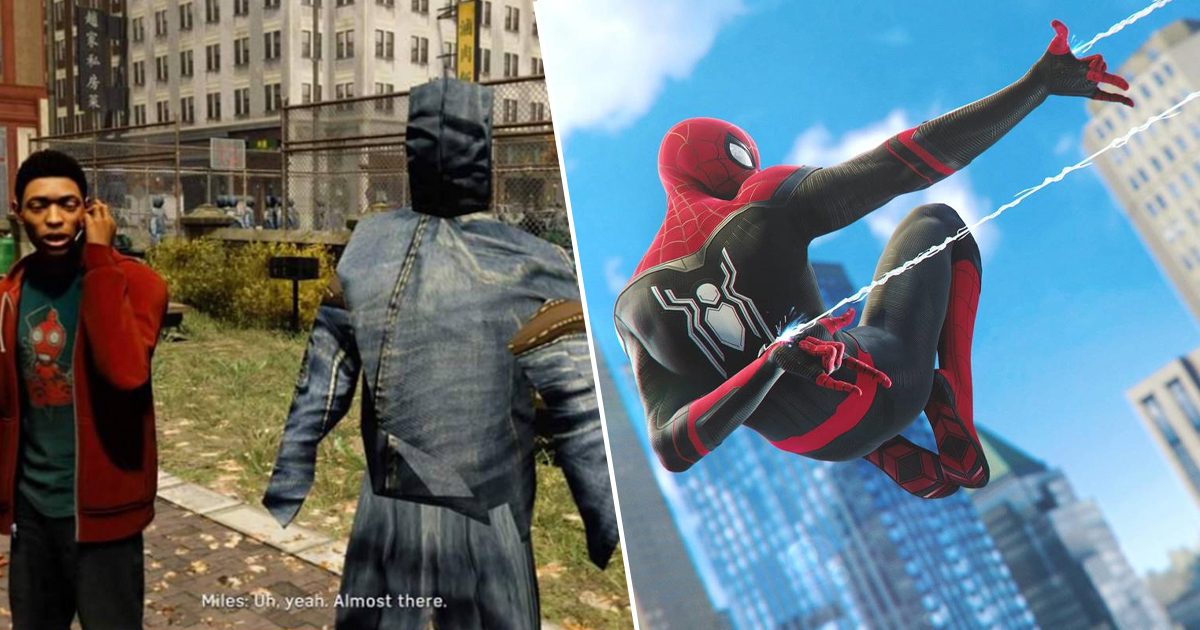 Terrifying Spider-Man Glitch Causes NPCs To Turn Into Denim Jean Monsters
