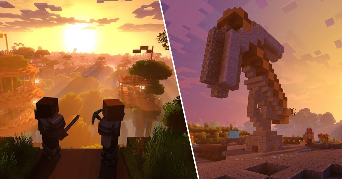 Minecraft's Massive Graphical Overhaul Update Cancelled By Mojang