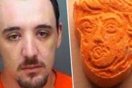 Man arrested in possession of Donald Trump ecstasy pills