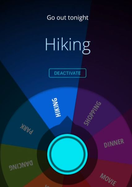 App can make decisions for you