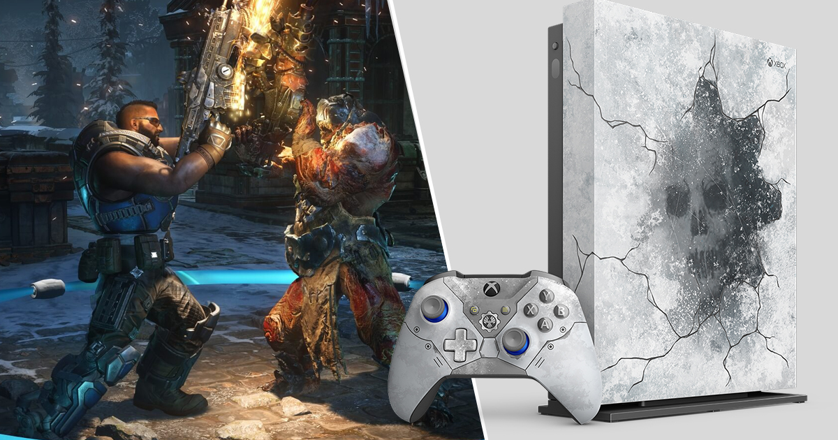 Gears Of War 5 Limited Edition Xbox One X Is A Beauty