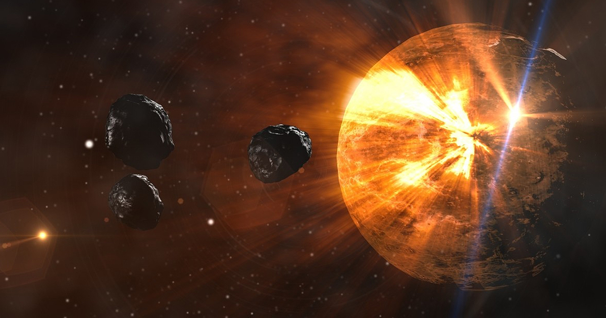 Nearly 900 Asteroids Are 'At Risk' Of Hitting Earth, Expert Warns